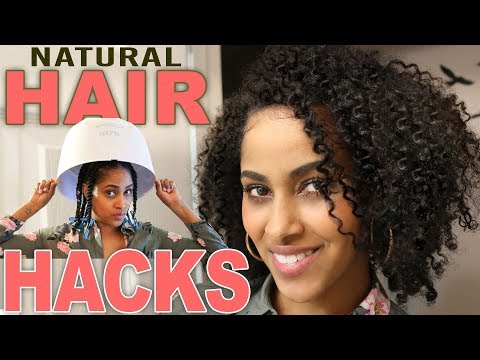 TWIST OUT TUTORIAL Natural Hairstyle Hacks