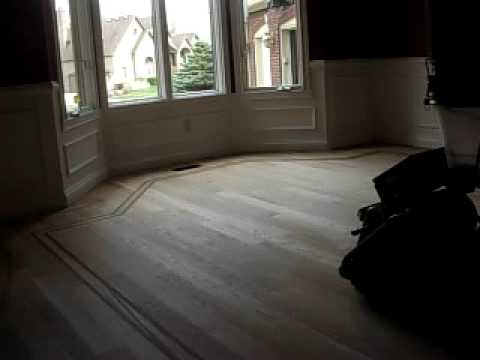Floor sanding with dust collection 2