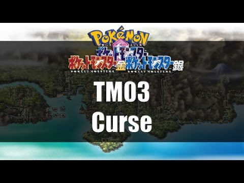 Pokemon Gold Silver & Crystal | Where to get TM03 Curse