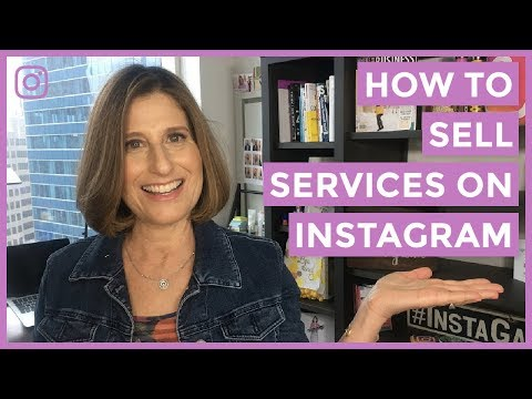How To Sell Services On Instagram