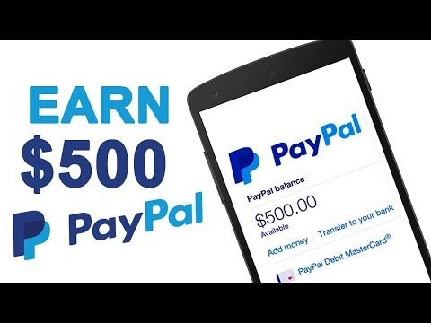 How to Earn $500-1000 Every month ($10 Daily) - Paypal 2017