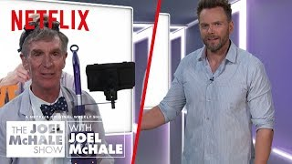 Did Bill Nye Just Invent Time Travel? | Joel McHale Show | Netflix