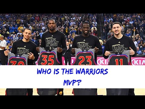 Who is the Warrior's MOST VALUABLE PLAYER?
