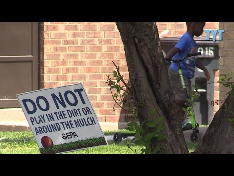 African American Neighborhood Built On Toxic Lead Contamination