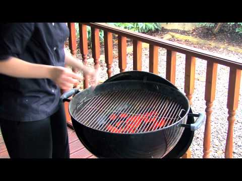 How to clean your Weber Charcoal Barbecue