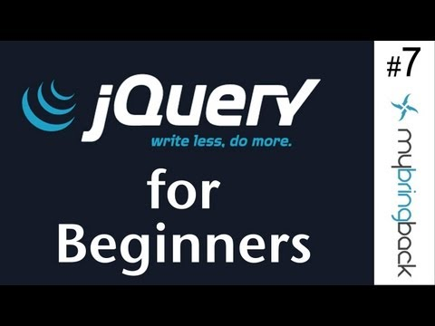 jQuery and AJAX Tutorials 7 | Implementing Chat Features