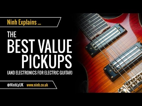 The Best Value Pickups for Electric Guitar or Bass - Cheap & Awesome!