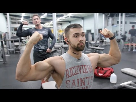 Getting Pumped with Scott Herman Fitness    Rising Legends S2Ep.1