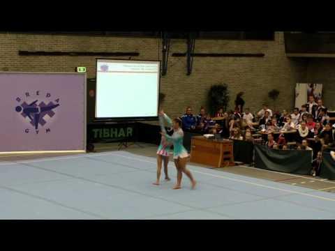 BOAC 2015   115   148   Women's Pair   Junior 12 18   Balance   BRA   Associação de Ginástica Acrobá
