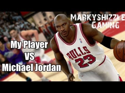 My Player 99 Vs Michael Jordan! NBA 2K12 Legends Showcase DLC. G.O.A.T. Achievement HD Hi Def
