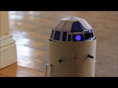 Make Your Own Mini Functional R2D2 - Parallax Basic Stamp 2