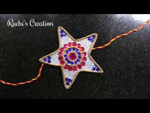 DIY Rakhi making for Raksha Bandhan