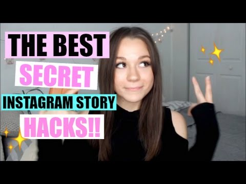 INSTAGRAM STORY HACKS YOU NEED IN YOUR LIFE ♥