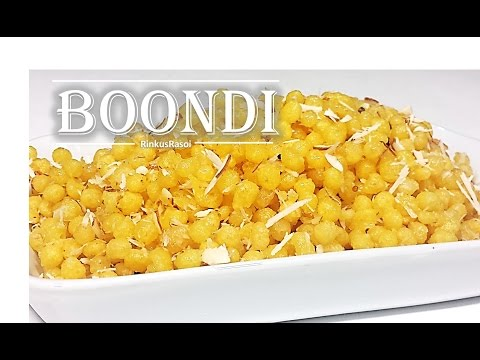 How to make sweet boondi | Easy Step by Step recipe | RinkusRasoi