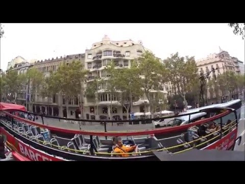 Half Centurion Cruise Part Deux - Barcelona:Hop On Hop Off Bus