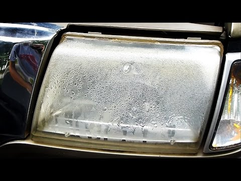 How to Fix a Headlight with Water or Moisture in it