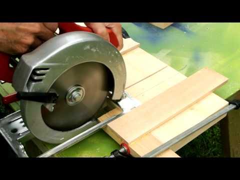 Dado cuts with a circular saw