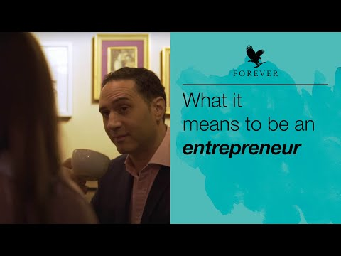 Forever Living   What it means to be an Entrepreneur   Behind the scenes video