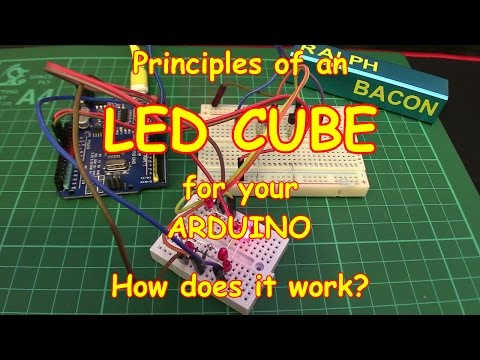 #56 How to build an LED Cube - Part 1
