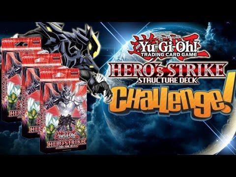 Yugioh Hero Strike Structure Deck Challenge!