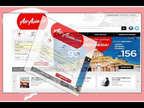 AirAsia Online Ticketing System (CRM)