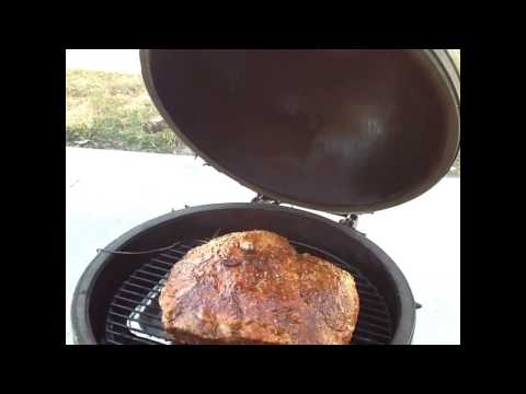 Smoking Top Sirloin On The Big Green Egg