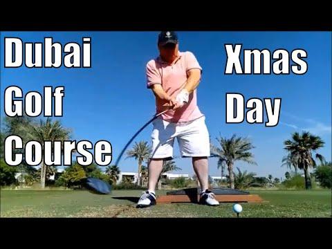 Christmas day at the Trump golf course Dubai