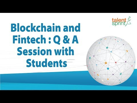 Blockchain and Fintech : Q & A Session with Students