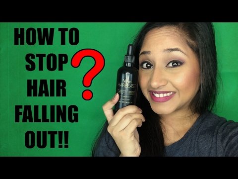 HOW TO STOP YOUR HAIR FALLING OUT! WANT THICKER HAIR?? WATCH HERE!