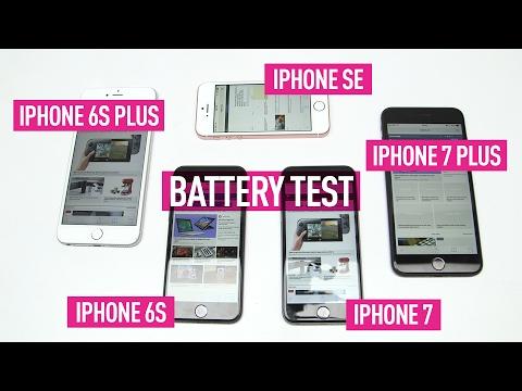 iPhone 7 vs 7 Plus vs SE vs 6S vs 6S Plus: Battery test
