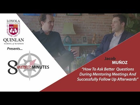 Mentorship Advice: How To Ask Better Questions In Mentoring Meetings - A Video Interview