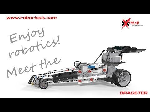 Meet the Dragster EV3 robot!
