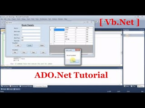 Select Insert update delete (CRUD) in vb.net [ADO.Net]