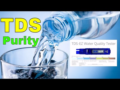 What is TDS (Total dissolved solids) & How TDS Meter Works...