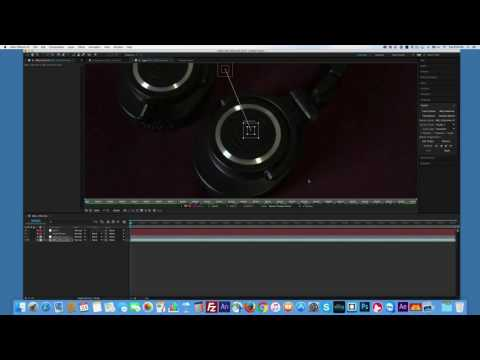After Effects Motion Track Text