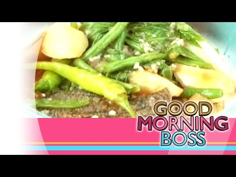 [Good Morning Boss] Fish Options: Pocherong Tilapia recipe [02|19|15]