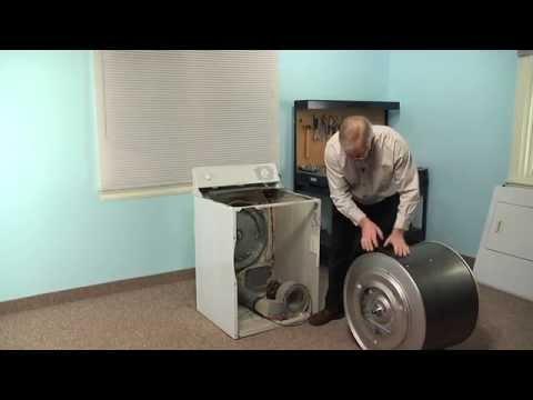 Dryer Repair - Replacing the Drum Belt (GE Part # WE12X10009)