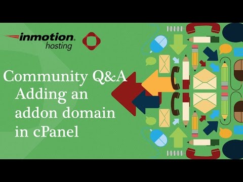 How to add an addon domain in cPanel (x3)