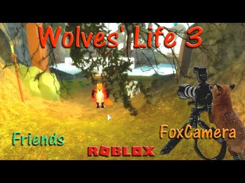Roblox - Wolves' Life 3 - Friends X & FoxCamera - HD