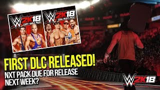 WWE 2K18: First DLC Released, NXT DLC Pack Set For November 21st ?
