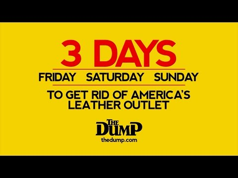 3 Days to Get Rid of Our Leather Store