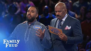 Final answer: Jibran needs 41 POINTS | Family Feud
