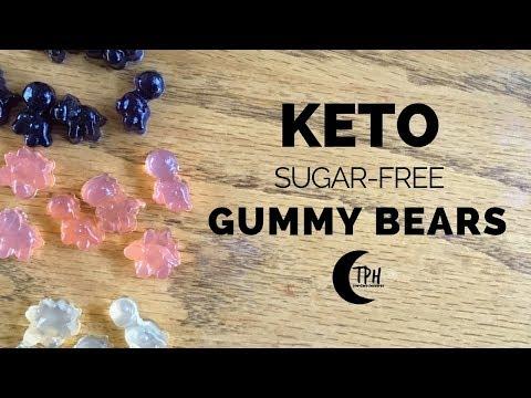 3 Keto Gummy Bear Recipes | Sugar-Free Gummy Candy