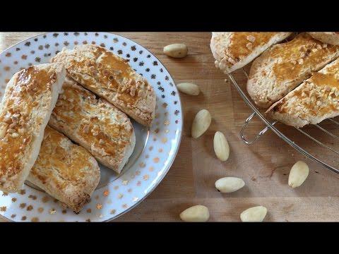 Gluten Free Almond Shortbread Recipe || Quick and easy recipes