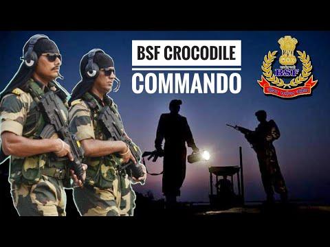 BSF Crocodile Commandos - Creek Crocodile Commando The Elite Commando Force Of BSF (Hindi)