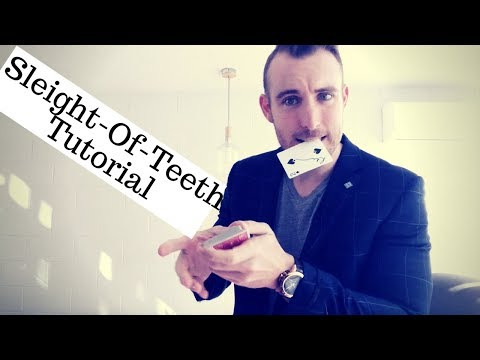 Learn The Sleight-Of-Teeth Card Trick! | Card Magic Tutorial