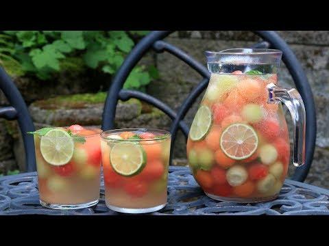 Sangria au melon