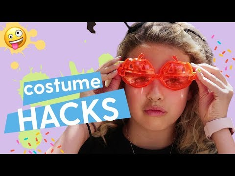 Best Halloween Costumes: Glow Stick Costume, Halloween Bat Hat, Fish Tank Costume | GoldieBlox