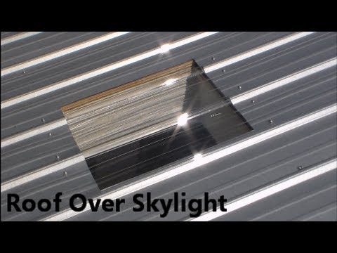 How to cover the Skylight