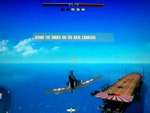 Battlefield 1943: Airplane Flying